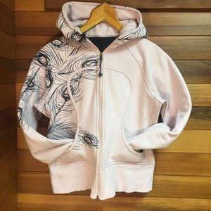 ✨Like New ✨ Lululemon Pink & Navy Scuba Hoodie
